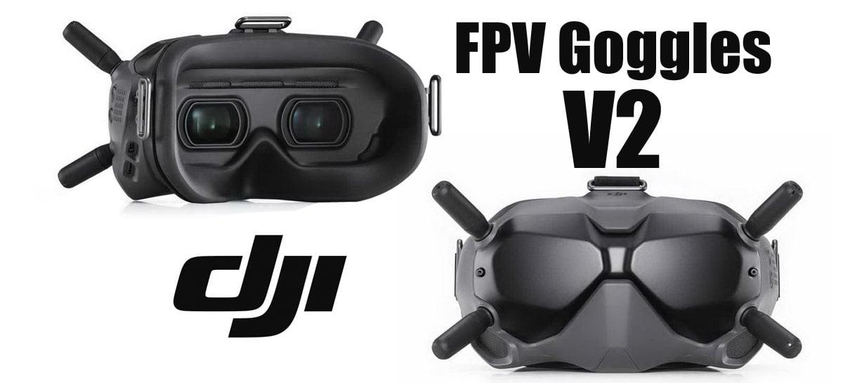 DJI FPV Goggles V2 já está à venda em lojas chinesas por US$575