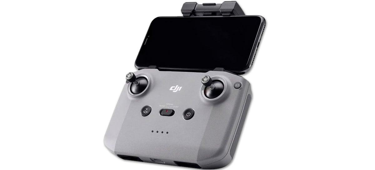 Vaza fotos do novo controle do drone Mavic Air 2 - Confira as mudanças