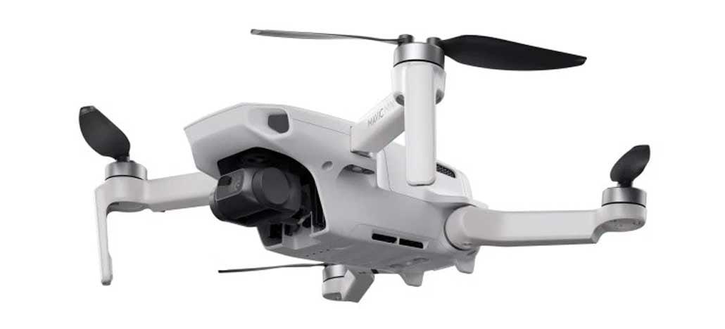 Por que o drone DJI Mavic Mini não filma em 4K?