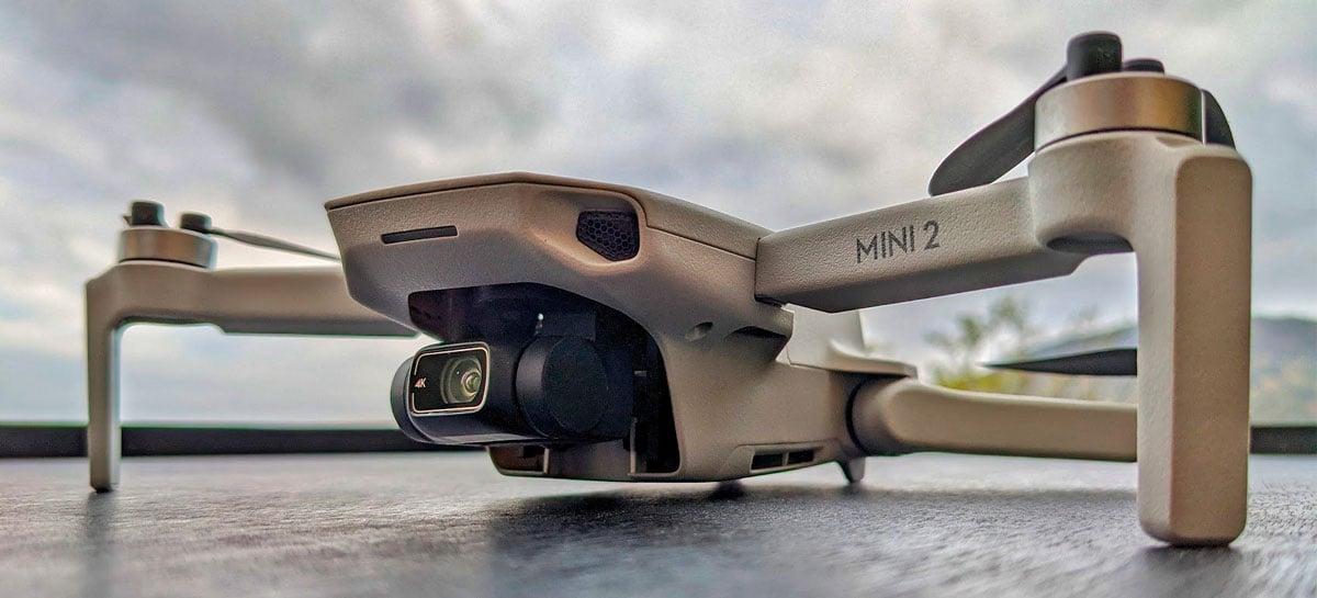 Drone DJI Mini 2 ganha atualização que melhora estabilidade de conexão e experiência de voo