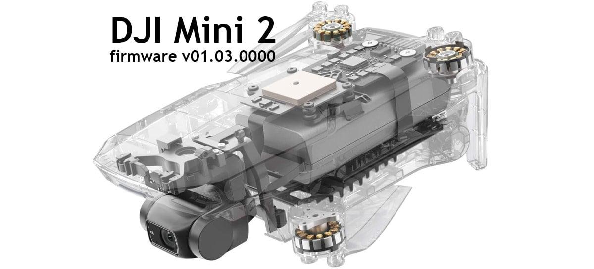 DJI Mini 2 firmware v01.03.0000 corrige bug crítico de bateria - ATUALIZE!!!