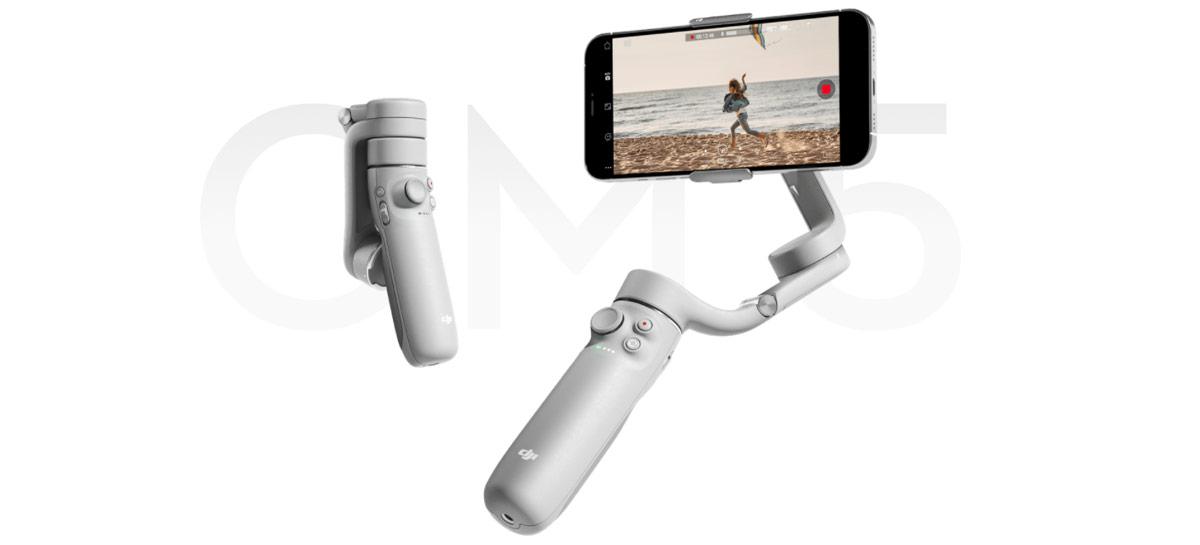 Estabilizador para smartphones DJI OM5 é anunciado com pau de selfie integrado