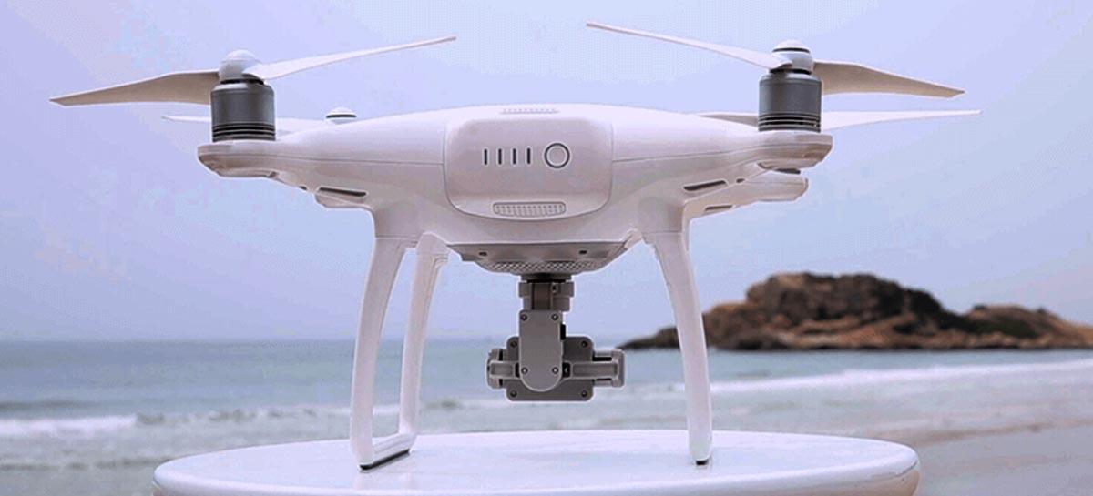 Drones ajudam a identificar resíduos plásticos em oceanos com IA