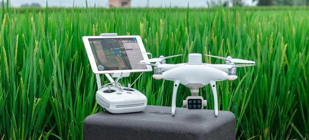 DJI anuncia P4 Multispectral, drone para análises precisas na agricultura