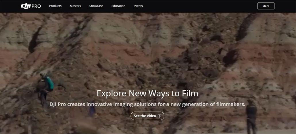 DJI Pro é novo site criado para fotógrafos profissionais com interesse em drones