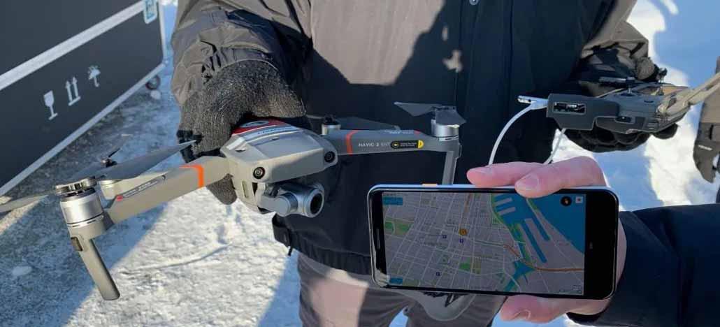 DJI vai permitir que qualquer pessoa monitore seus drones nas proximidades
