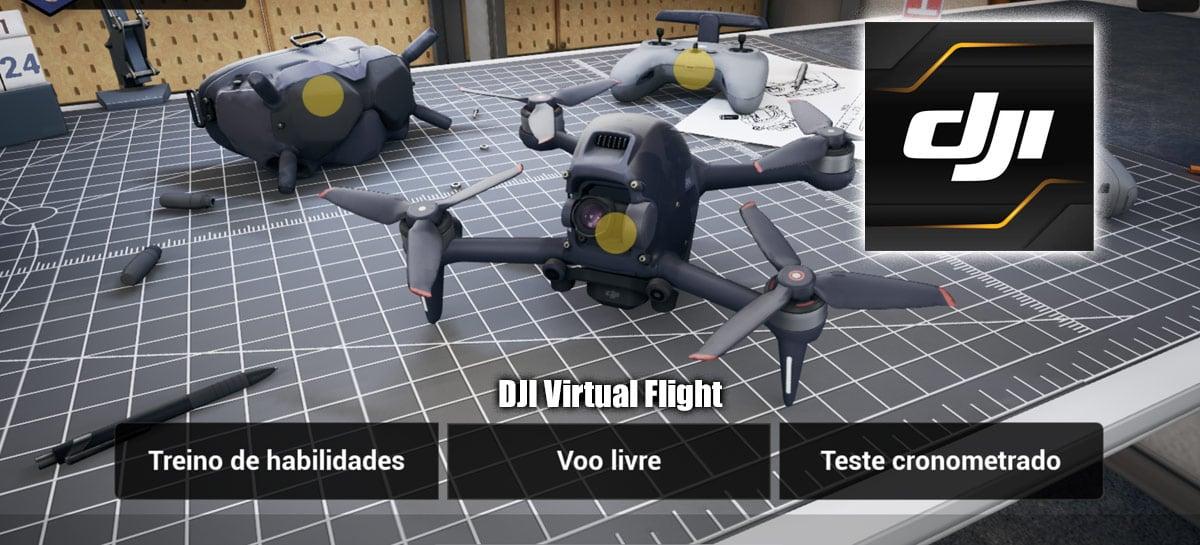 DJI Virtual Flight é o simulador de drones FPV da DJI - DOWNLOAD
