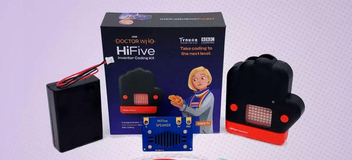 Kit Doctor Who HiFive Inventor ensina programação para criança