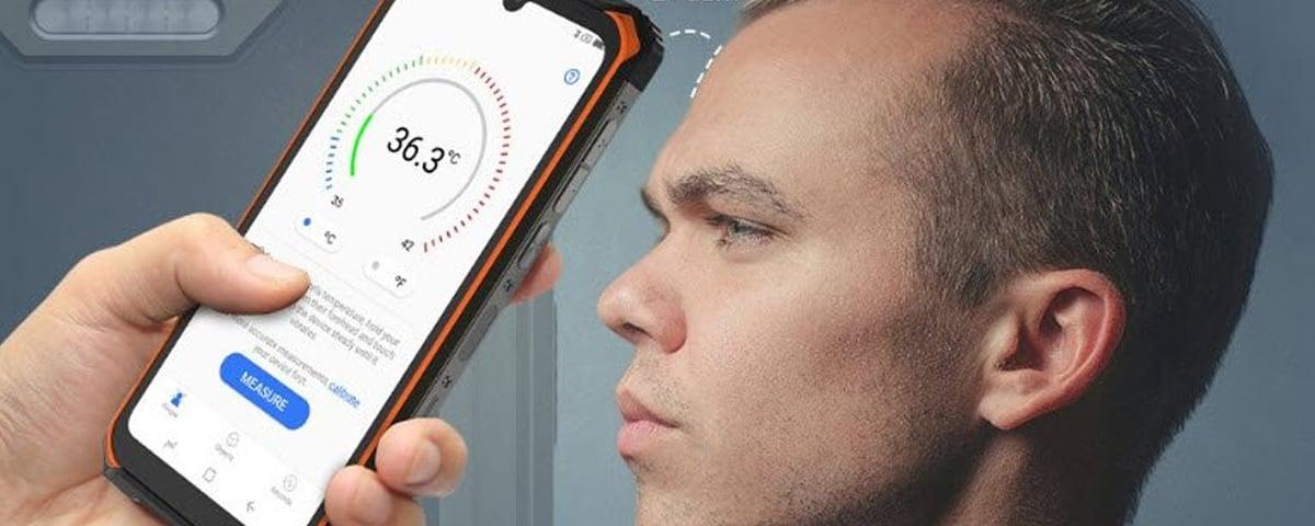 Celular muito resistente e com termômetro! Testando o Dodgee S86 Pro