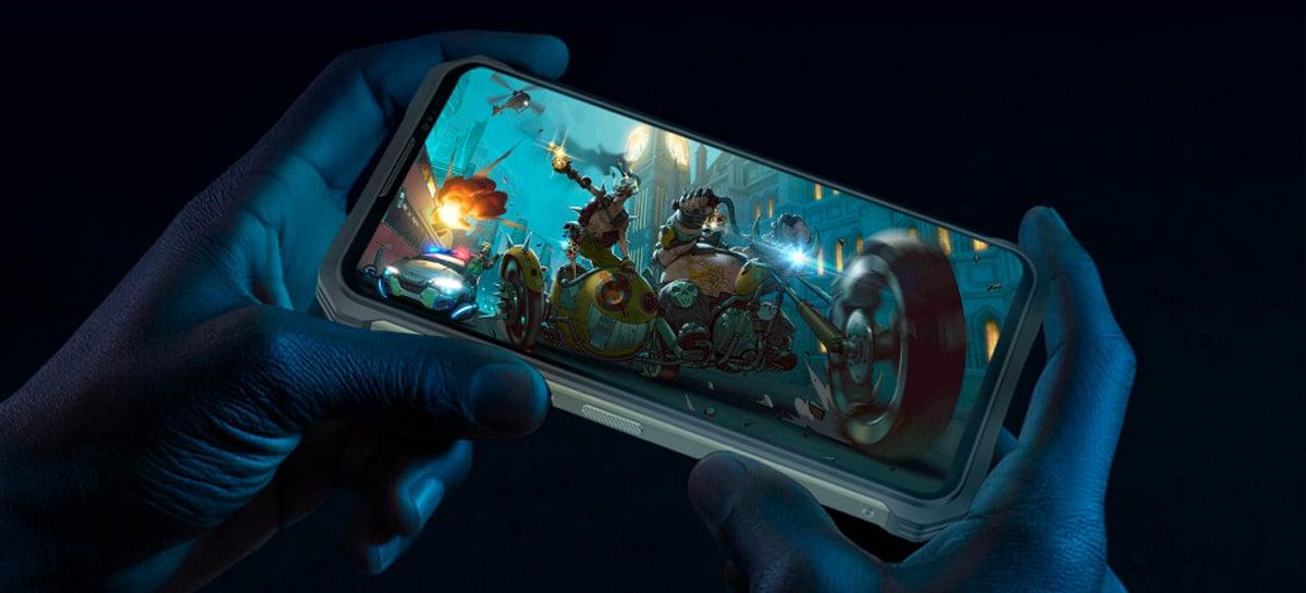 Smartphone Doogee V10 5G é revelado com corpo resistente por menos de US$ 200