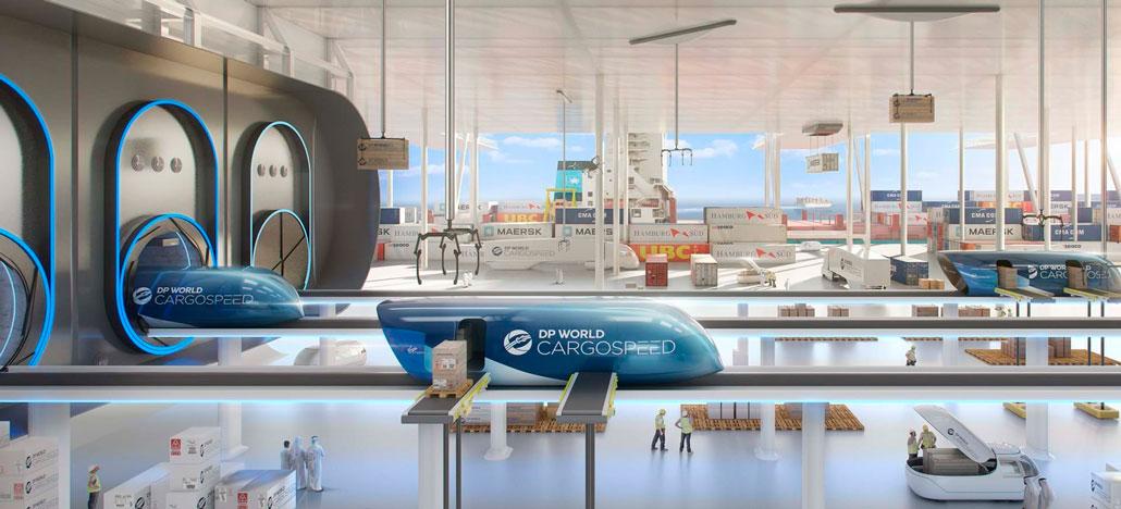 Virgin e DP World anunciam Hyperloop para cargas com frete de caminhão