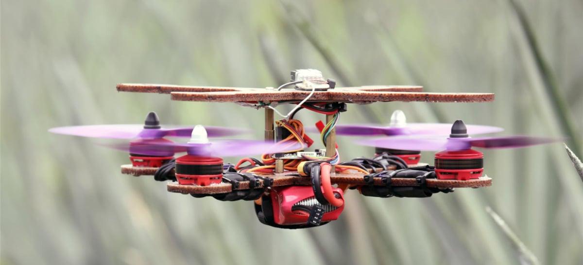 Pesquisadores usam folhas de abacaxi para criar corpo de drones