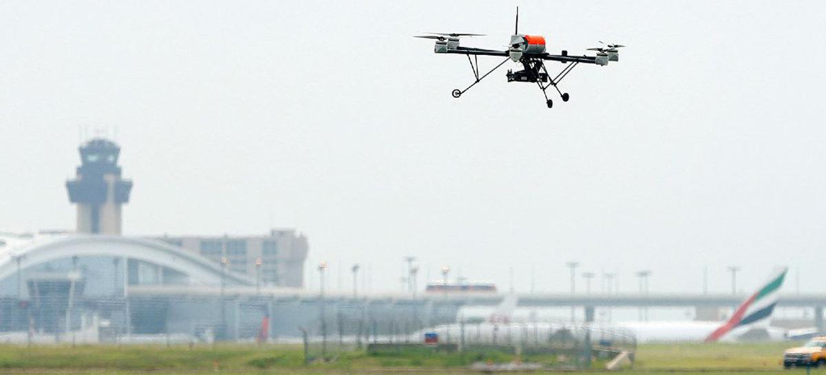 FAA testará tecnologias de detecção de drones em aeroportos ainda em 2020