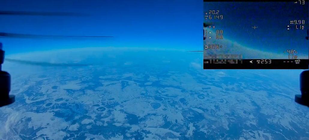 Russo faz drone de corrida voar a mais de 10 mil metros de altitude