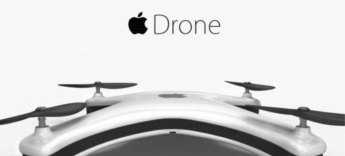 Apple está trabalhando em tecnologia de modens para drones, de acordo com patente