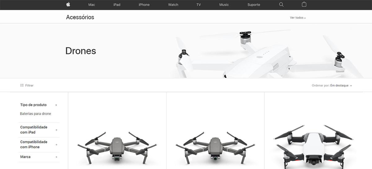 Apple contrata especialista para fazer lobby por drones em Washington