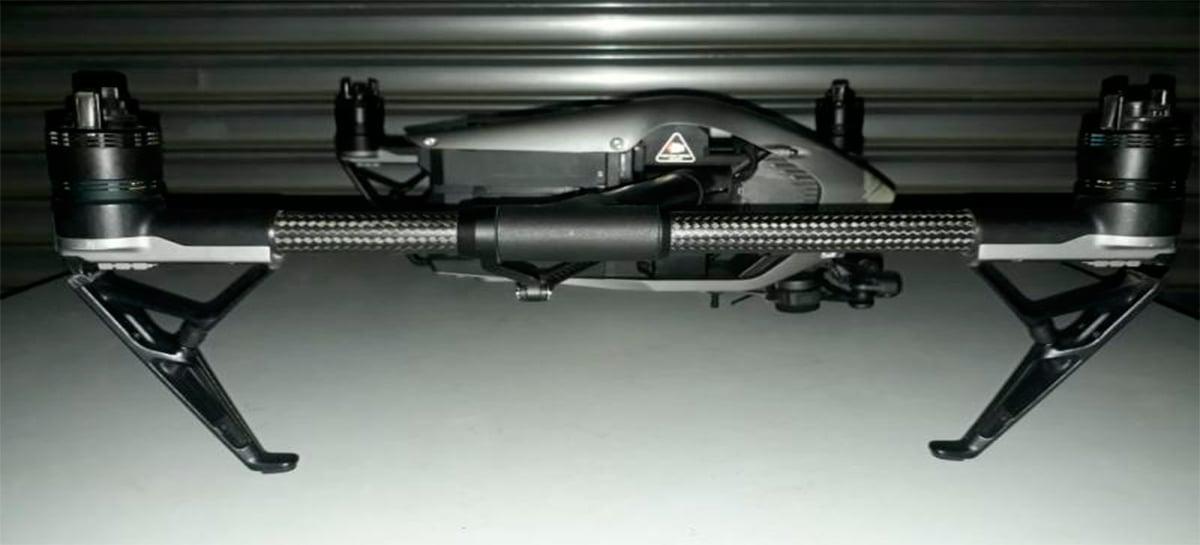 Leilão tem drone profissional DJI Inspire 2 Phantom por preço inicial de R$2.000; faça seu lance!