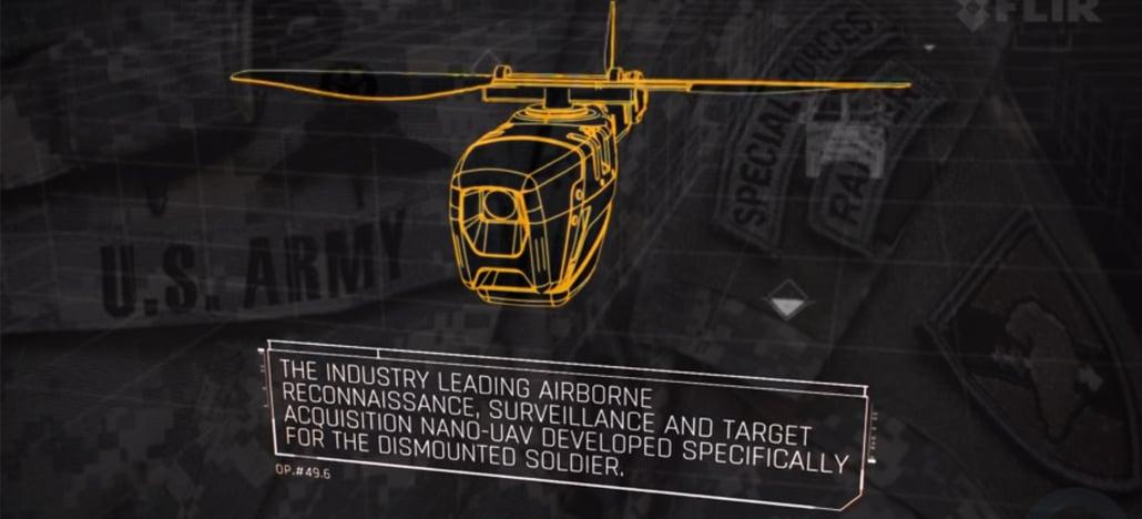 Exército dos EUA posicionado no Afeganistão começará a usar mini-drones militares em breve