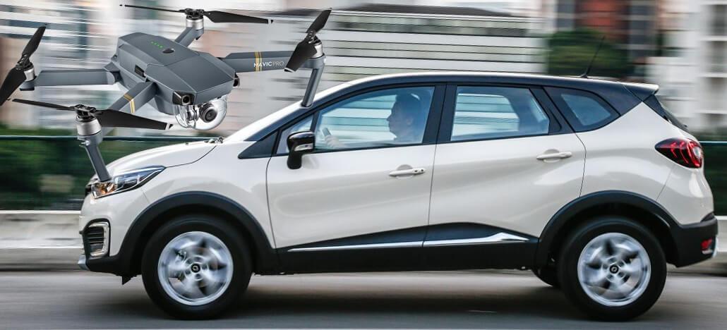 Drone engana IA de carro projetando placas de trânsito falsas