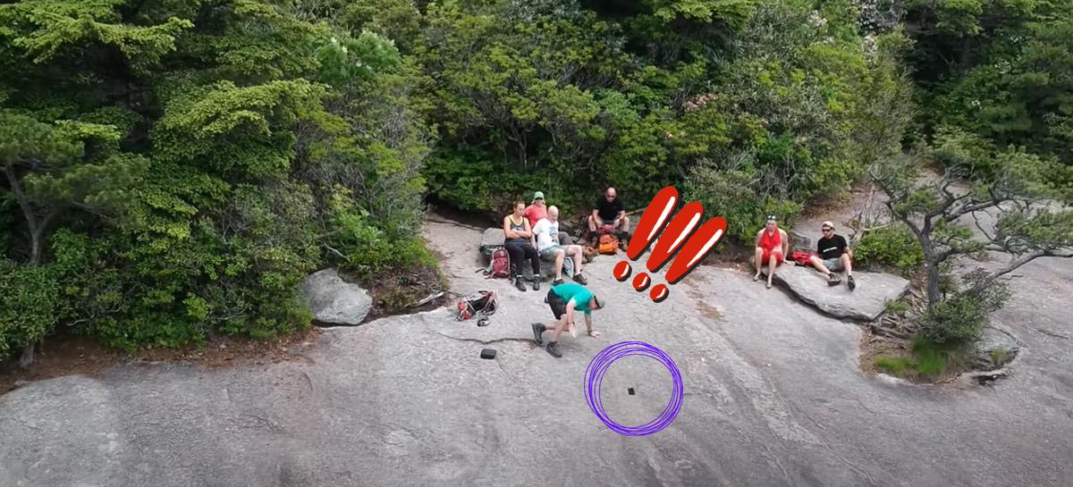 Drone grava usuário perdendo o celular por acidente em viagem - VEJA VÍDEO!