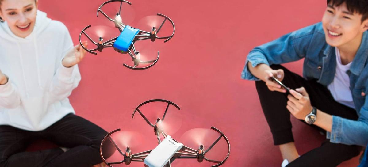 Novo drone Tello Talent pode ser lançado em breve