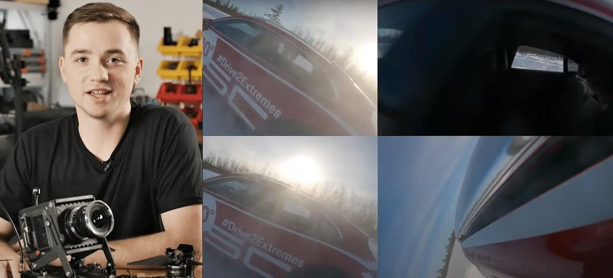 Johnny FPV explica como passou pela janela do carro da Porsche em movimento com drone