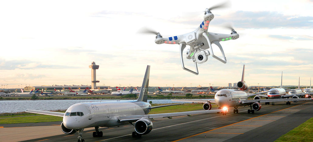 FAA permite que drones de DJI e outras marcas voem perto de aeroportos