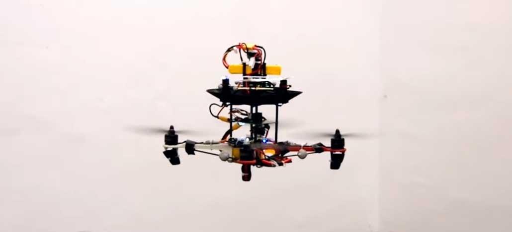 Pesquisadores criam forma de aumentar o tempo de voo de drones
