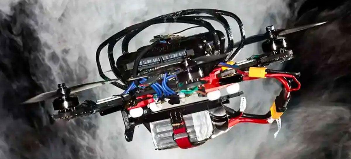 Drone autônomo supera piloto humano em corrida; veja vídeo