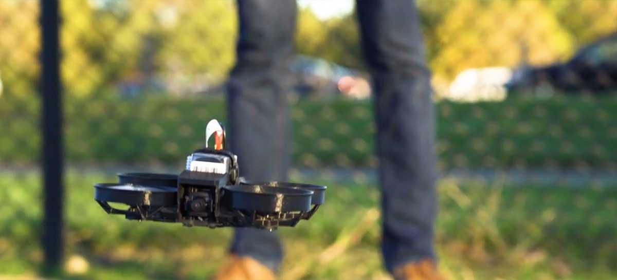 Beagle Nova, drone FPV completo traz câmera 4K 60fps e pesa menos de 250g