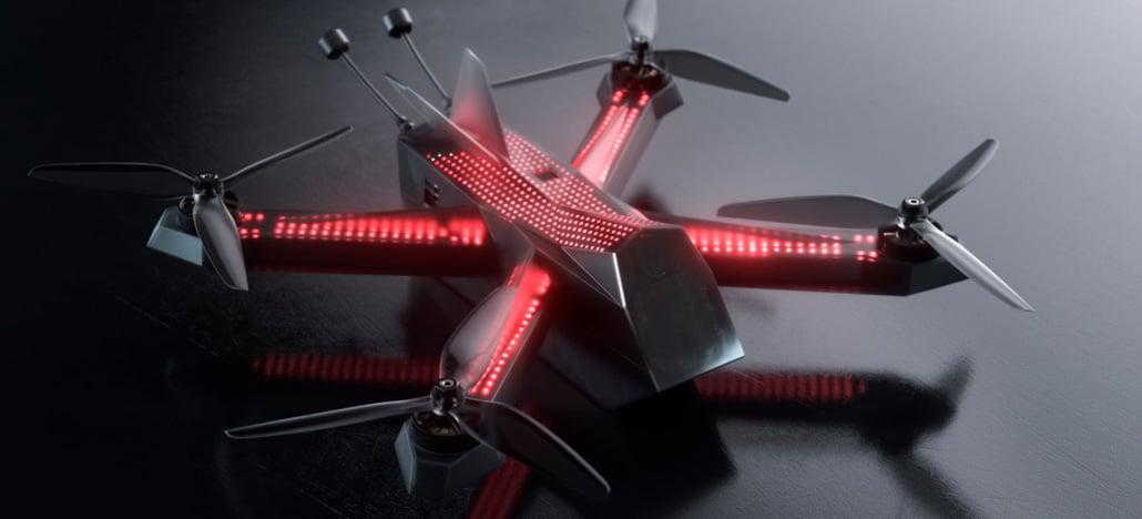 DRL abre pré-vendas do DRL Racer4, drone FPV que vai de zero a 144km/h em um segundo [+Update]