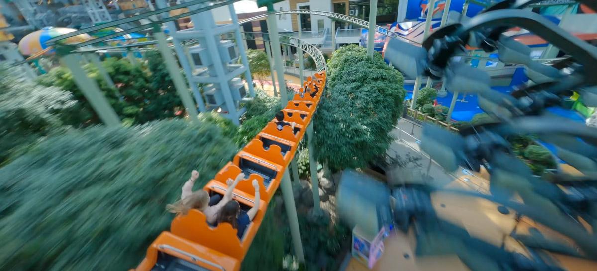 Vídeo sensacional com drone FPV mostra mega shopping que tem até parque de diversões
