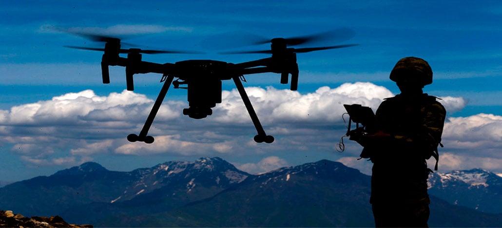 O exército dos EUA está tentando usar lasers para recarregar drones em pleno voo