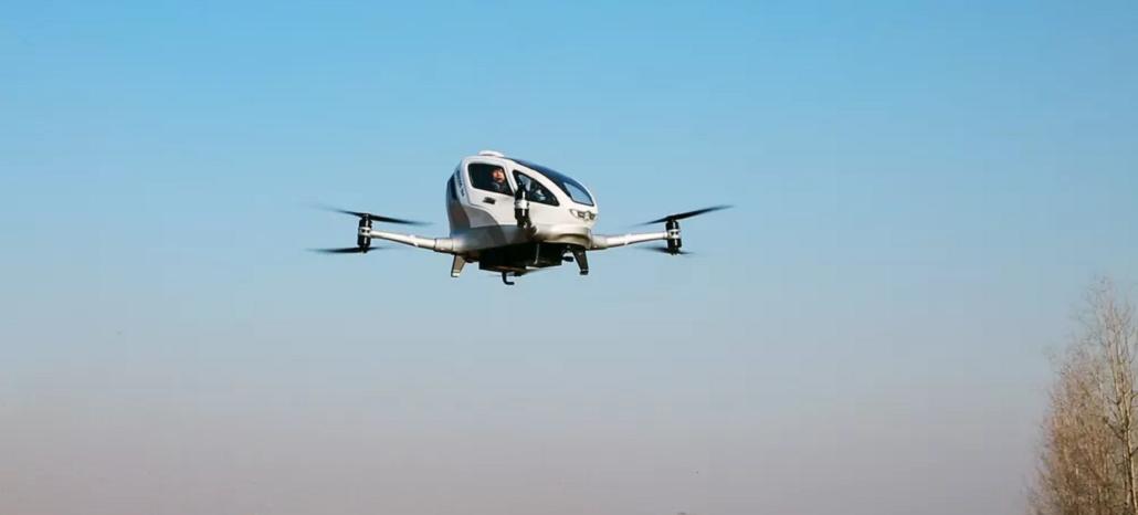 Empresa chinesa cria drone autônomo que pode levar um passageiro