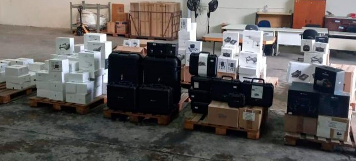 Policia Federal inicia operação contra importação ilegal de drones