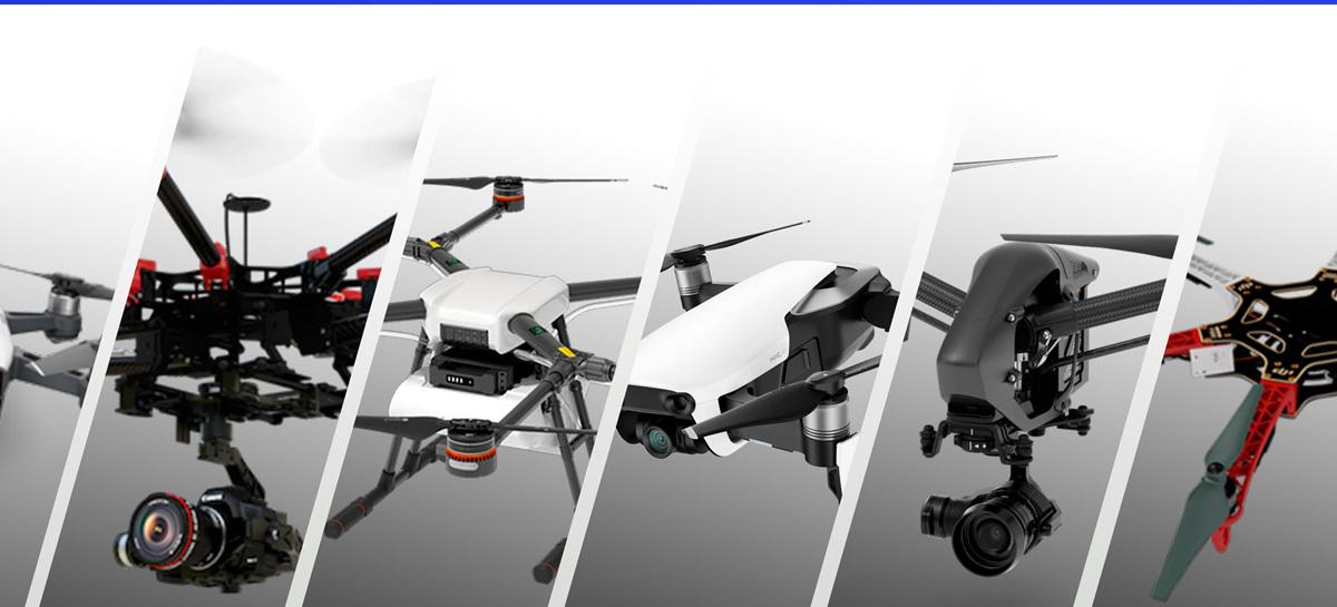 DJI tem 69% do mercado de drones, mas sentiu a queda nas vendas nos EUA