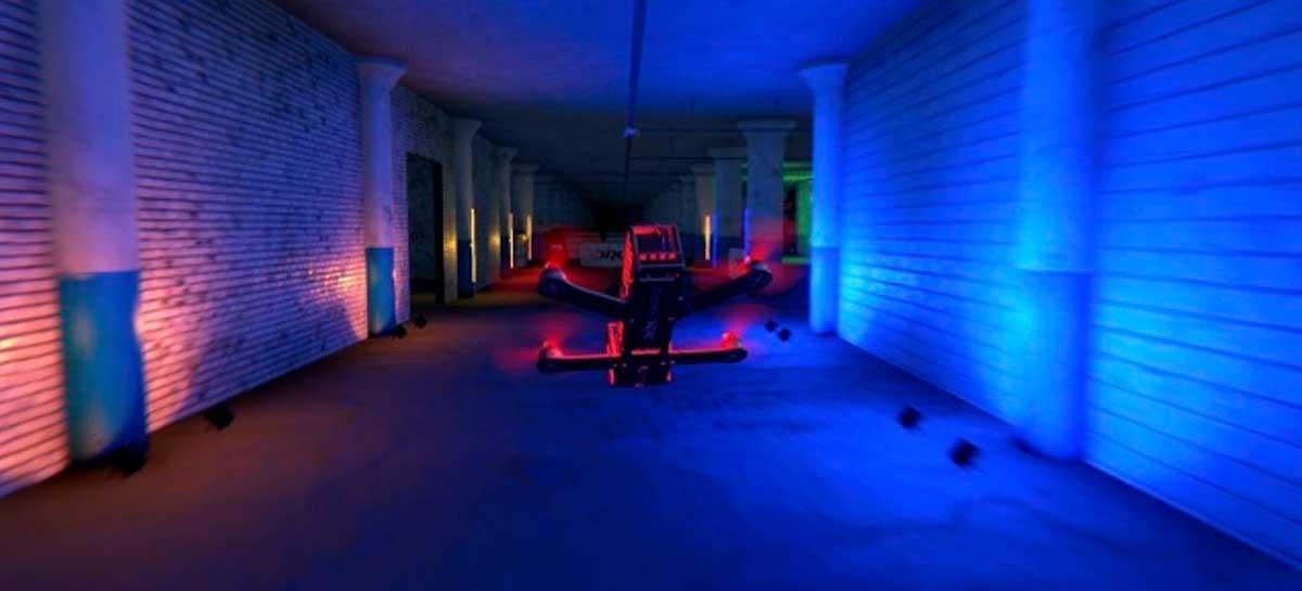 Liga de corrida de drones faz parceria com DraftKings para oficializar apostas esportivas