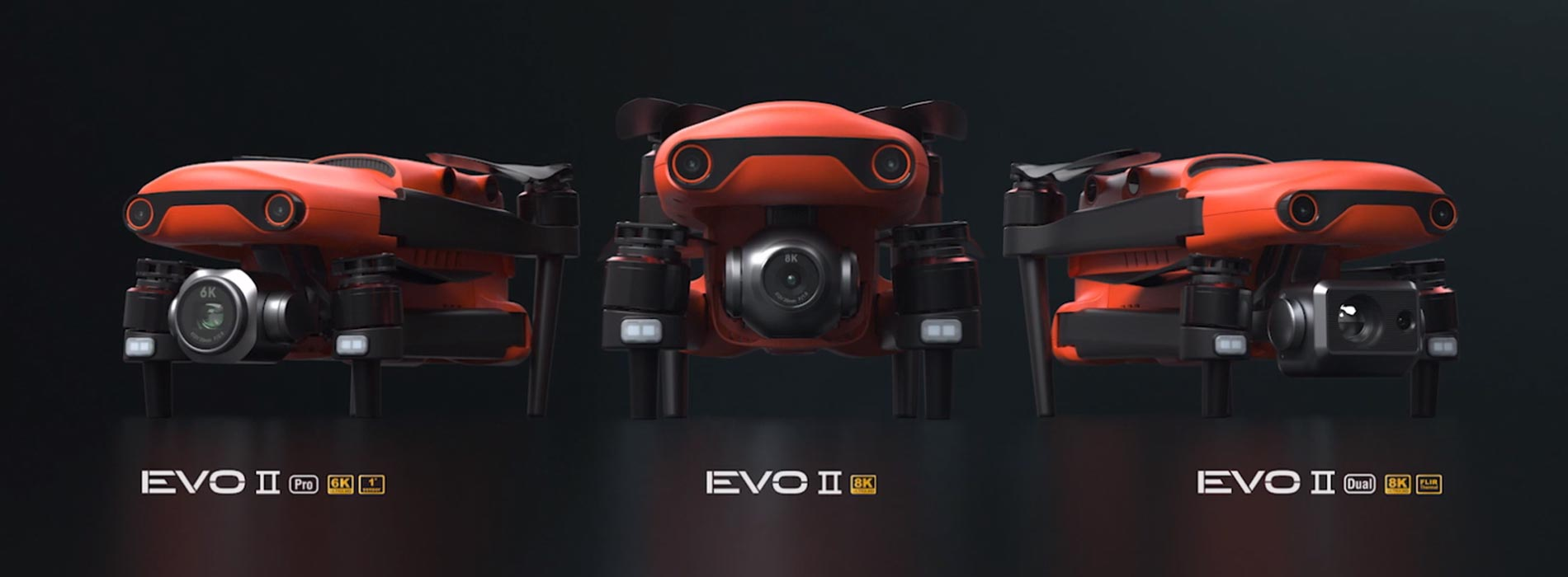 Drone Autel EVO II: 8K camera, 40 minutes of flight, 12 sensors, 9k away and ...