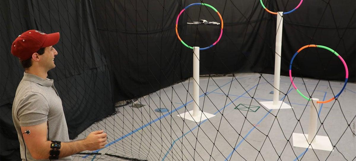 Cientistas criam maneira de controlar drones com gestos