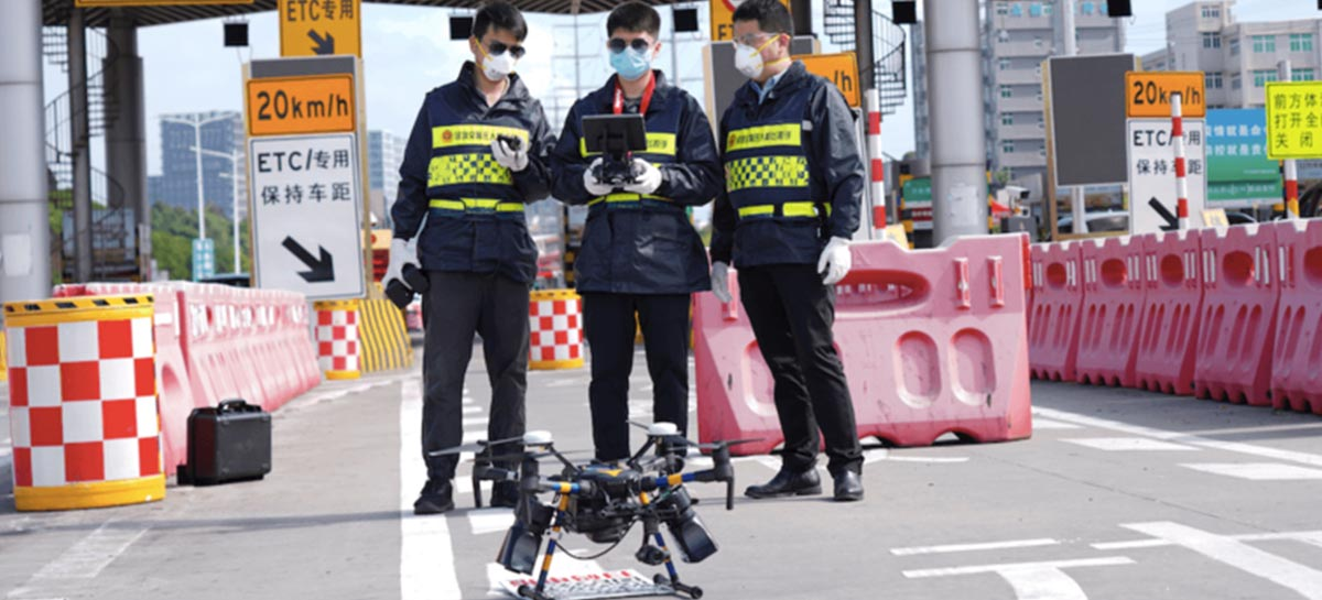 DJI explica como drones ajudam no combate ao Covid-19