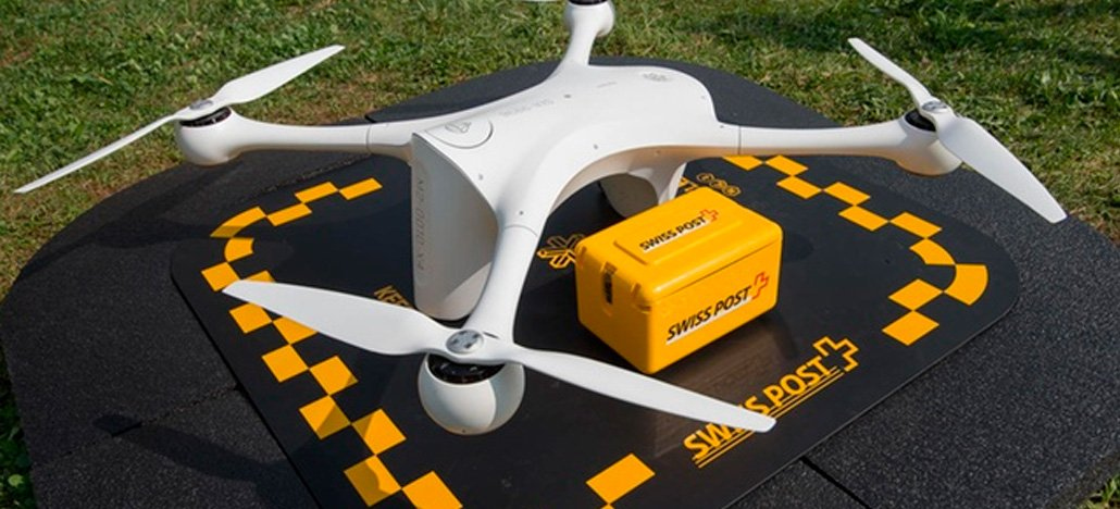 Correio da Suíça suspende as entregas usando drones por tempo indeterminado
