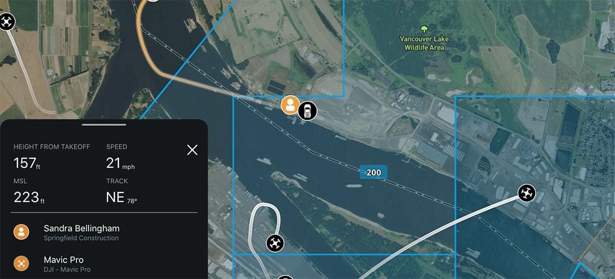Verizon Skyward permite que drones sejam rastreados em tempo real