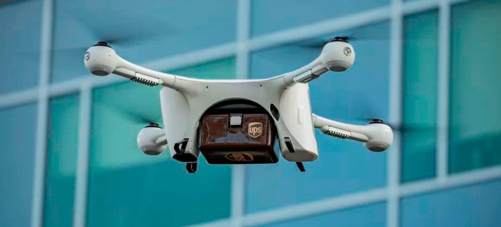 UPS busca aprovação para fazer entregas com drones nos EUA
