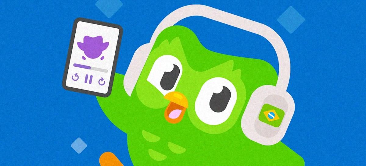 Duolingo lança podcast com histórias reais para ajudar quem quer aprender a falar inglês