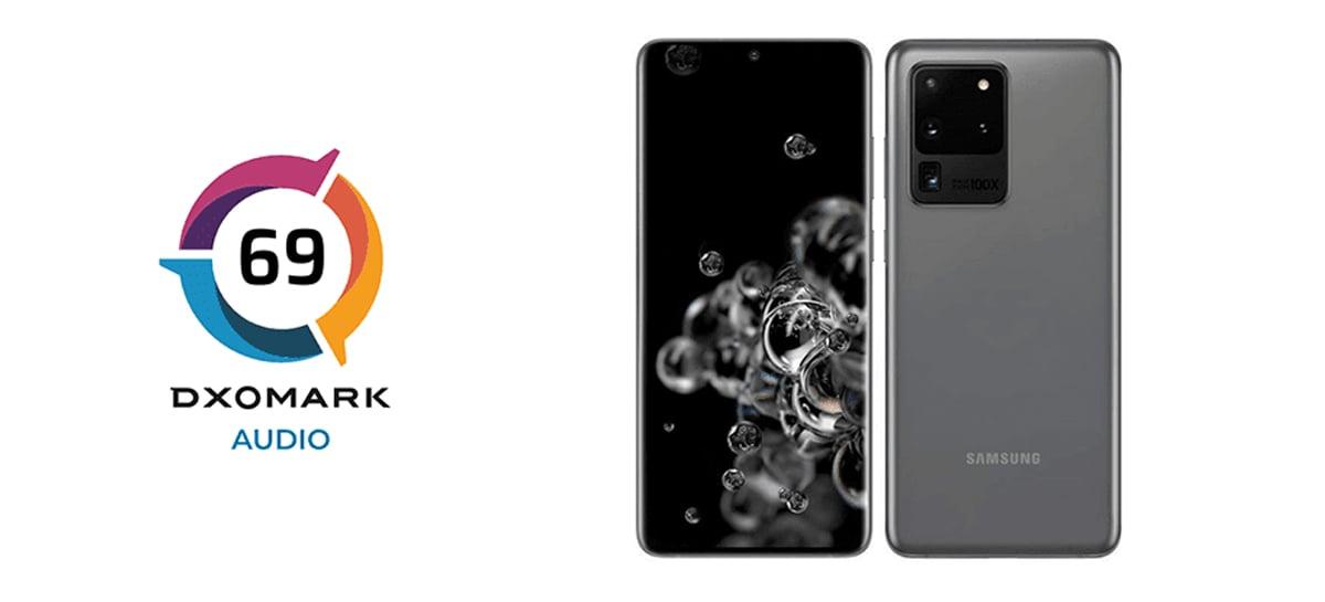 Galaxy S20 Ultra fica em 5º lugar no teste de áudio do DxOMark