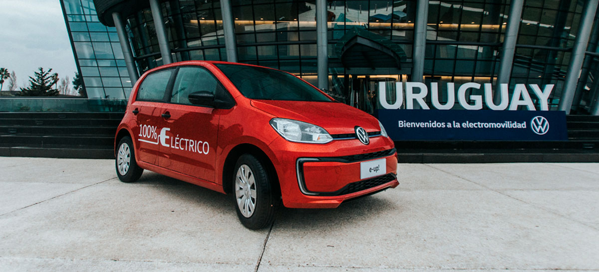 Volkswagen apresenta seu veículo elétrico e-up! para a América Latina