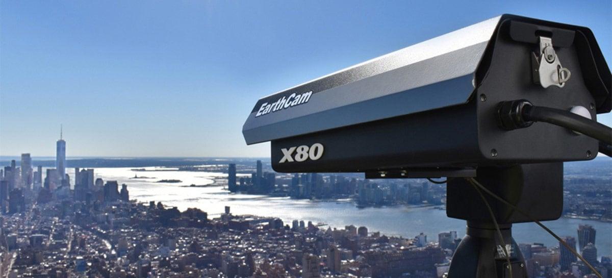 EarthCam anuncia Gigapixel Cam X80, capaz de capturar fotos com 80.000MP