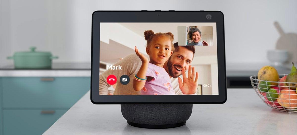 Amazon Echo Show 10 enfim entra na pré-venda nos EUA por US$ 250