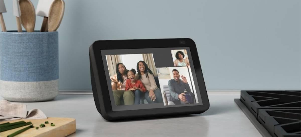 Amazon lança nova geração da Echo Show 8 e Echo Show 5