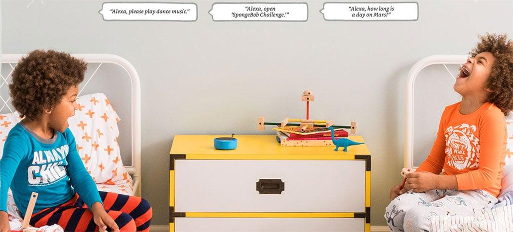 Amazon lança Echo Dot para crianças
